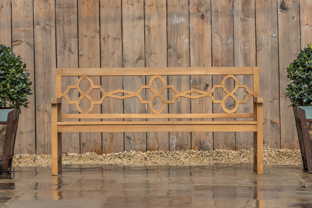 Parterre Backed Bench