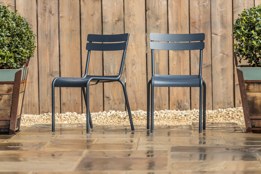 Luxembourg Stacking Chair Anthracite
