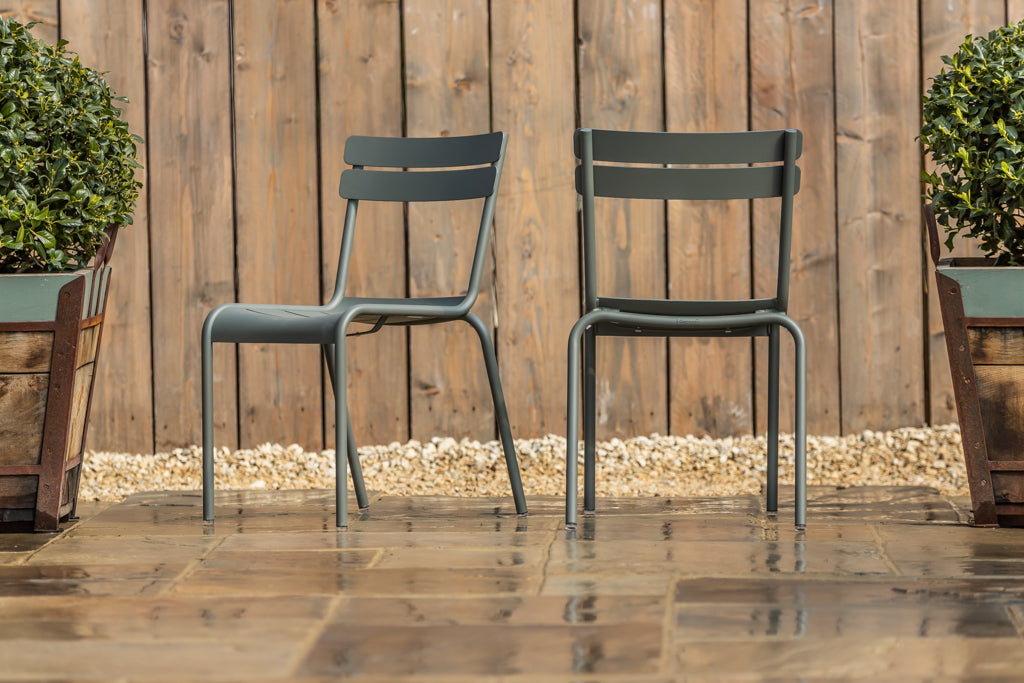 Luxembourg Stacking Chair Rosemary