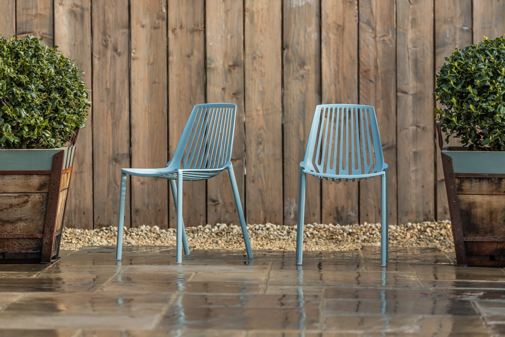 Sorrento Chair Light Blue