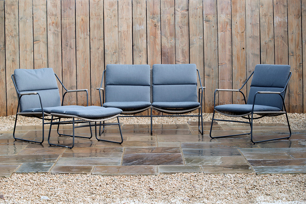 Scandi Lounge Armchair - Rosara Outdoor Style