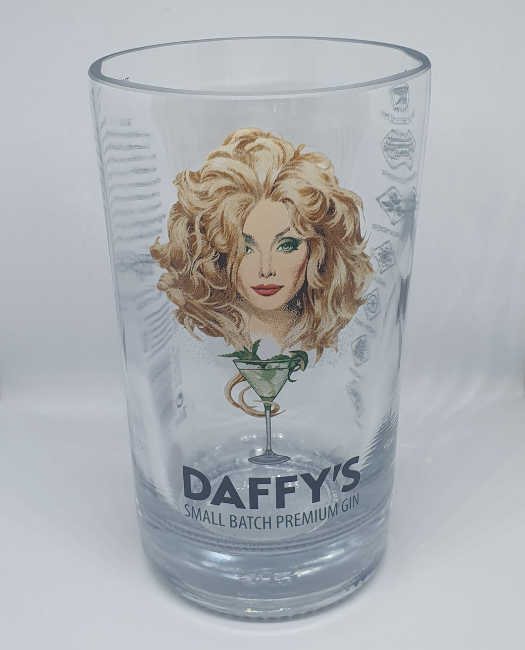 Daffy's Gin Bottle Candle