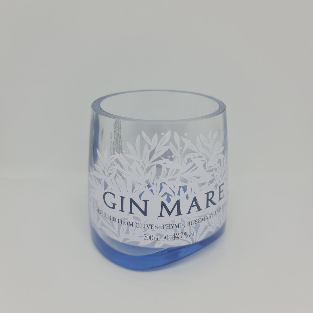 Gin Mare Gin Bottle Candle