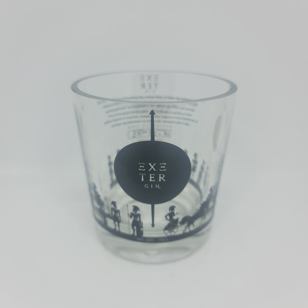 Exeter Gin Bottle Candle