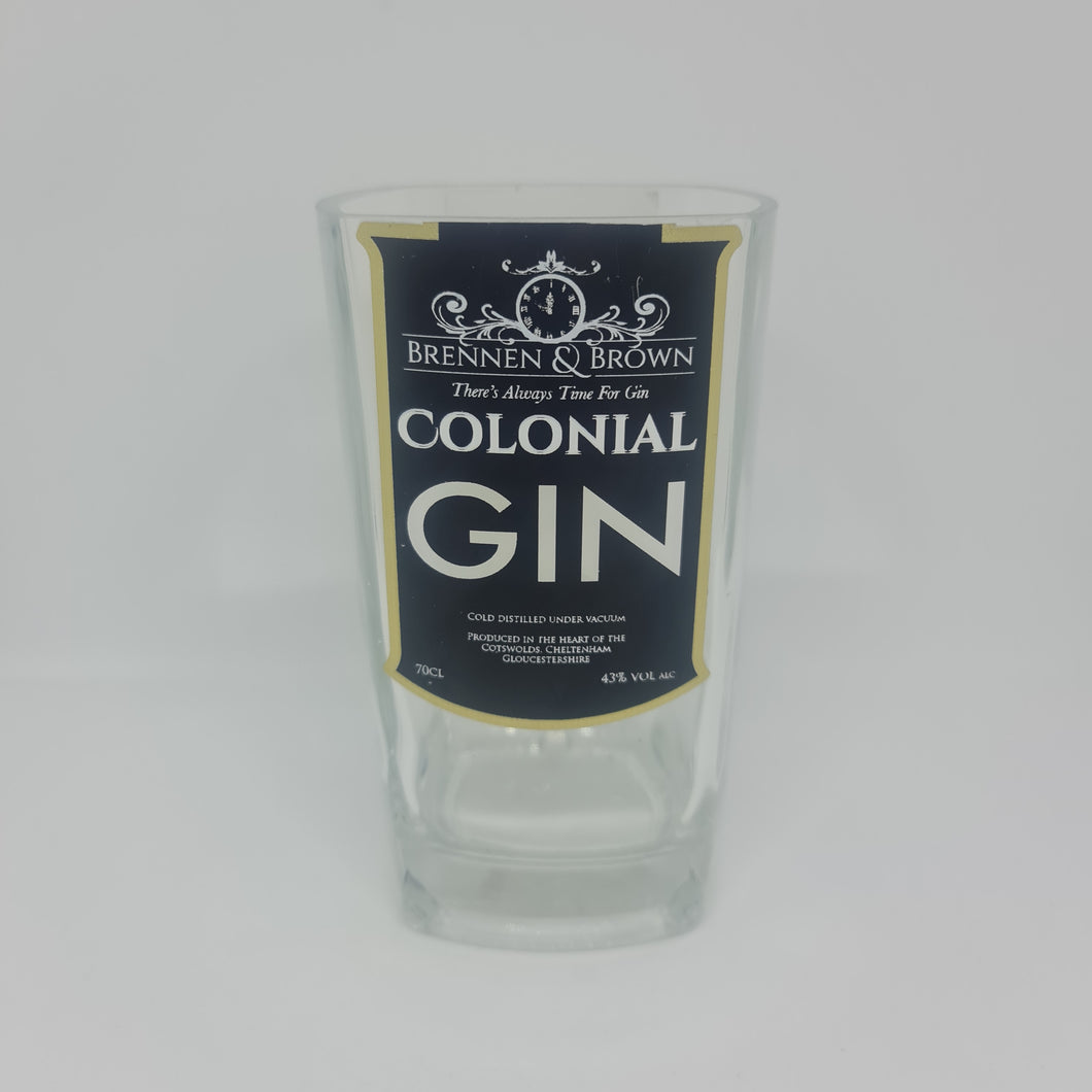 Brennan & Brown Colonial Gin Bottle Candle