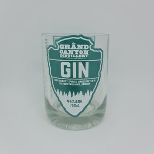 The Grand Canyon Distillery Gin Bottle Candle