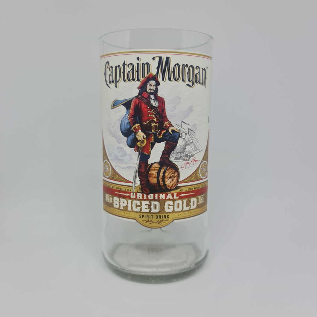 Captain Morgan Spiced Gold Rum Bottle Candle - 1L