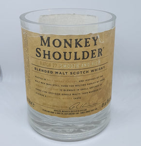 Monkey Shoulder Bottle Candle