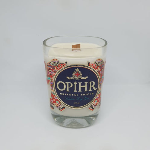 Opihr Gin Bottle Candle