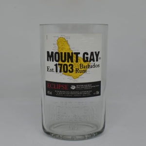 Mount Gay Rum Bottle Candle
