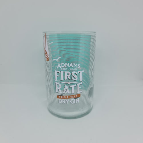 Adnams First Rate Dry Gin Bottle Candle