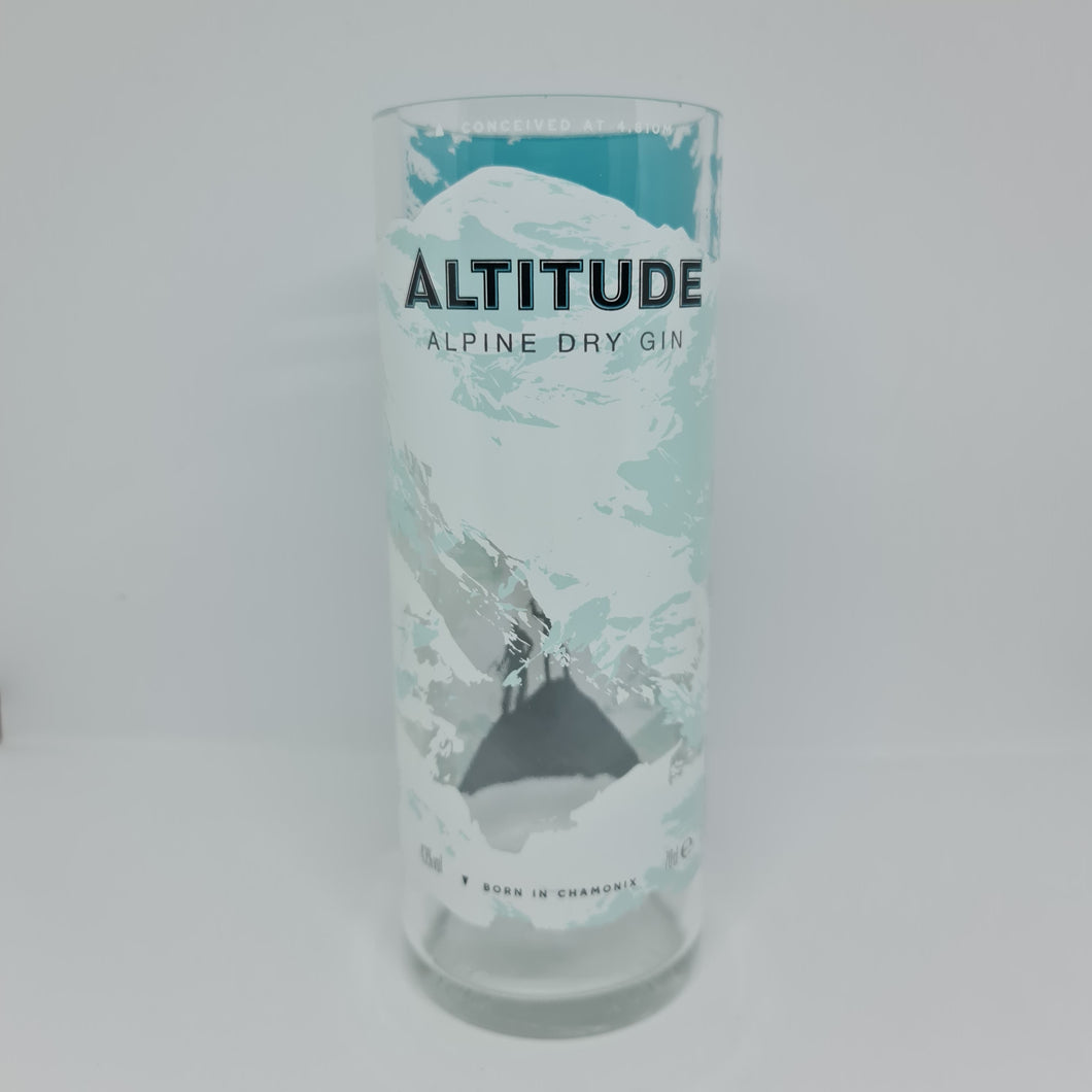 Altitude Alpine Dry Gin Bottle Candle