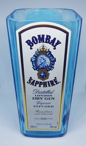 Bombay Sapphire Bottle Candle