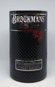 Brockmans Gin Bottle Candle