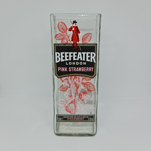 Beefeater London Pink Strawberry Gin Bottle Candle