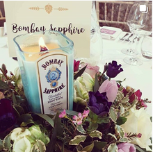 Load image into Gallery viewer, Bombay Sapphire Bottle Candle