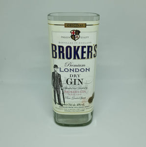 Broker's Gin Bottle Candle