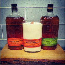 Load image into Gallery viewer, Bulleit Bourbon Whiskey Bottle Candle
