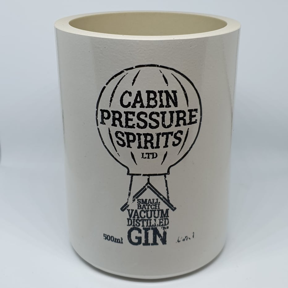 Cabin Pressure Gin Bottle Candle