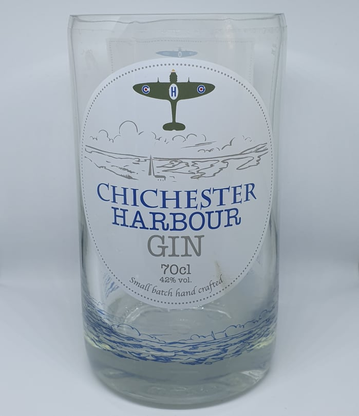 Chichester Harbour Gin Bottle Candle