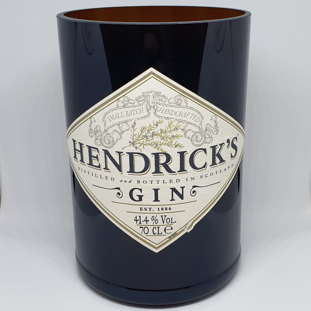 Hendricks Gin Bottle Candle