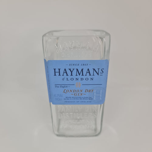 Hayman's London Dry Gin Bottle Candle