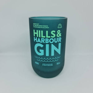 Hills & Harbour Gin Bottle Candle