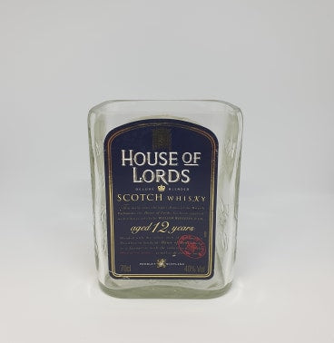 House of Lord's Scotch Whiskey Bottle Candle