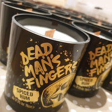 Load image into Gallery viewer, Dead Man's Fingers Bottle Candle - Spiced Mojito