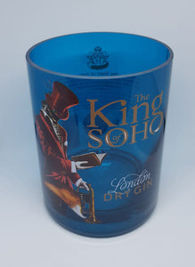 The King of Soho Gin Bottle Candle
