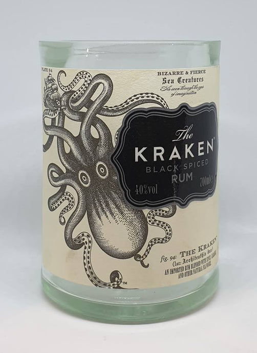 Kraken Bottle Candle