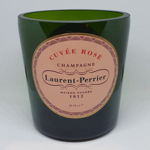 Laurent Perrier Champagne Bottle Candle