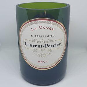 Laurent-Perrier Champagne Bottle Candle