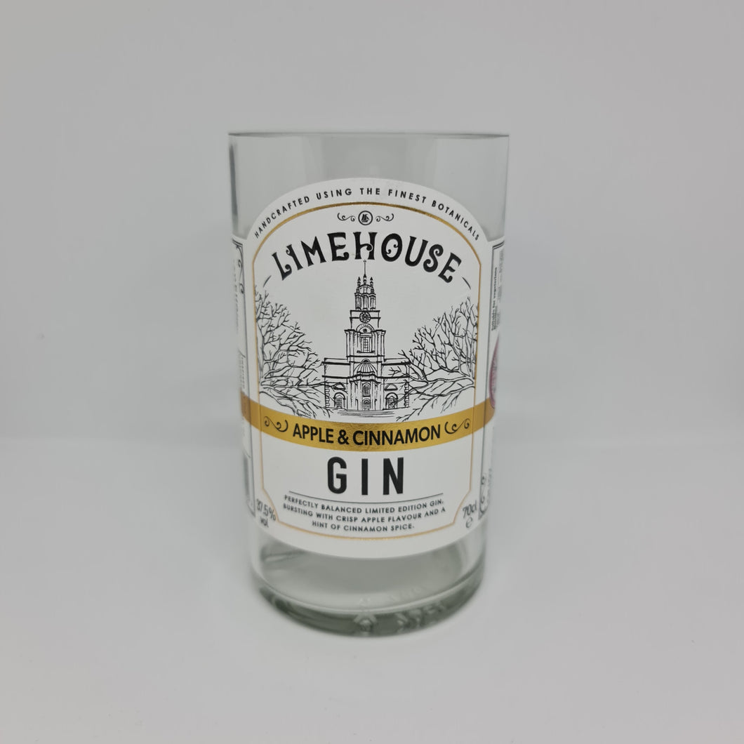 Limehouse Apple & Cinnamon Gin Bottle Candle