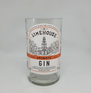 Limehouse Gin Bottle Candle