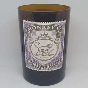 Monkey Shoulder 47 Gin Bottle Candle