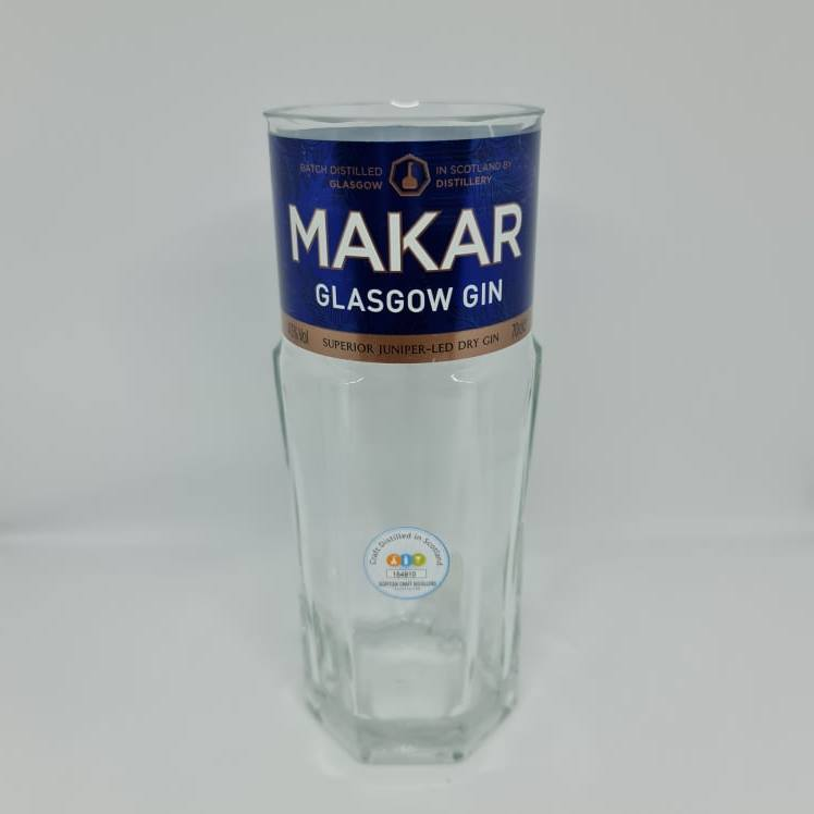 Makar Gin Bottle Candle