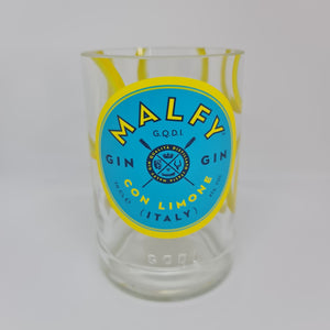 Malfy Con Limone Gin Bottle Candle