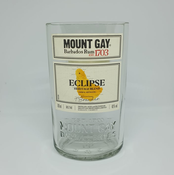 Mount Gay Eclipse Rum Bottle Candle