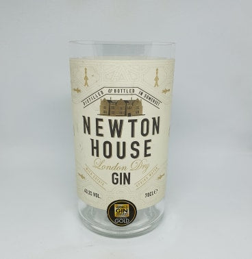 Newton House Gin Bottle Candle