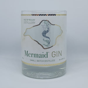 Mermaid Gin Bottle Candle