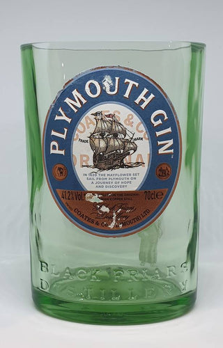 Plymouth Gin Bottle Candle