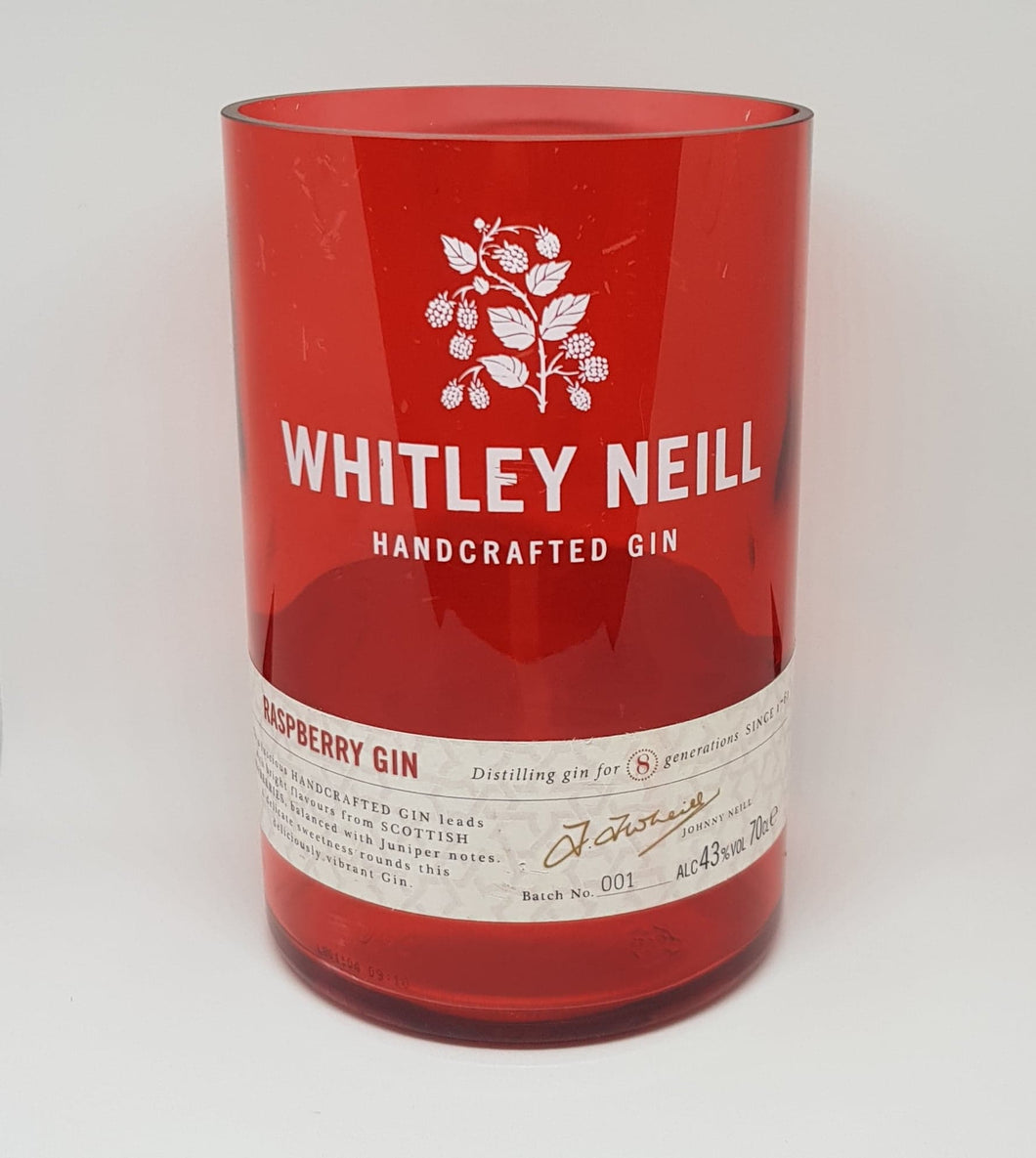 Whitley Neill Raspberry Gin Bottle Candle