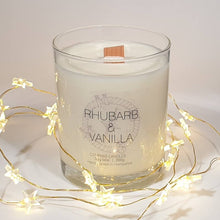 Load image into Gallery viewer, Rhubarb & Vanilla Soy Wax Candle