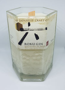 Roku Gin Bottle Candle