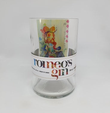 Romeo's Gin Bottle Candle