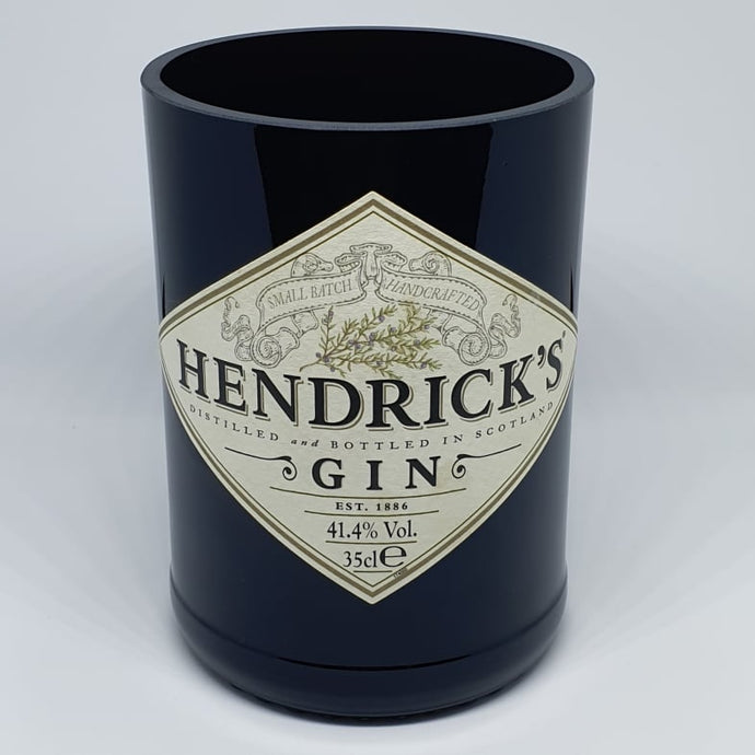 Small Hendricks Bottle Candle