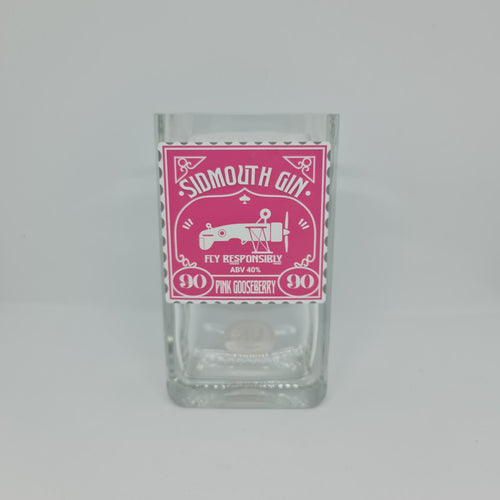 Sidmouth Gin Bottle Candle