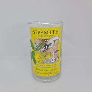 Sipsmith Lemon Drizzle Gin Bottle Candle 50cl
