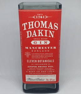 Thomas Dakin Gin Bottle Candle